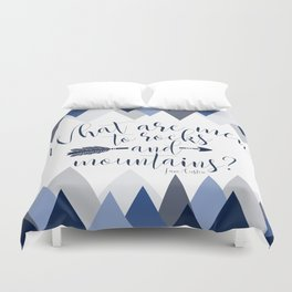 Pride & Prejudice - Mountains Duvet Cover