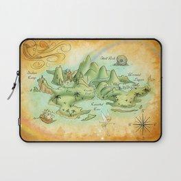 Neverland Map Laptop Sleeve