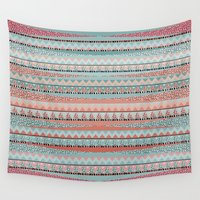boho Wall Tapestries featuring BOHO by Nika