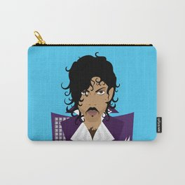 The Emoji-fication of His Purple Majesty: The Purple One Carry-All Pouch
