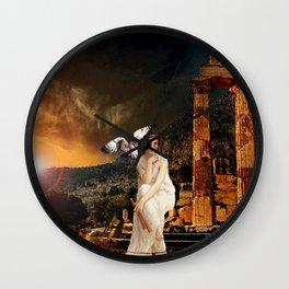 Ruin - Pallas Athena Wall Clock