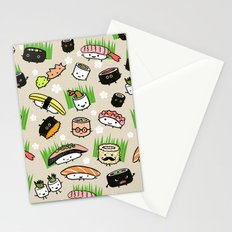 Sushi Friends Stationery Cards