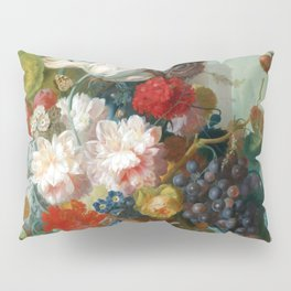 "Jan van Os ""Fruit and Flowers in a Terracotta Vase"" Pillow Sham"