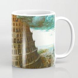 The Tower of Babel by Pieter Bruegel the Elder Coffee Mug