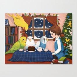 merry holidays Canvas Print