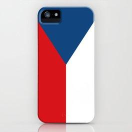 Flag of Czech Republic iPhone Case