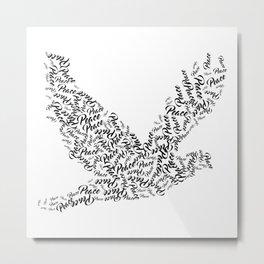 Bird Of Peace Metal Print