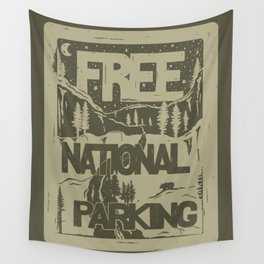 PRKNG Wall Tapestry