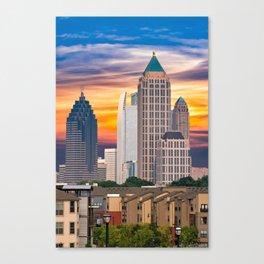 Atlanta at Sunrise Canvas Print