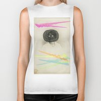 led zeppelin Biker Tanks featuring Led Contrast by Naomi Vona