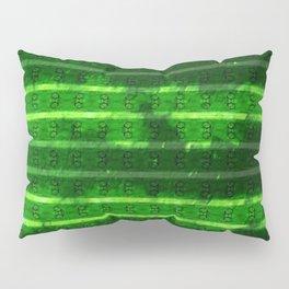 Metal Watermelon Rind Pillow Sham