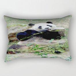 Panda in China Rectangular Pillow