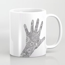 Hand Doodle Coffee Mug