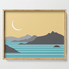 Howe Sound Moon Serving Tray