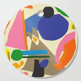Abstract morning Cutting Board