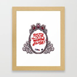 Who is the naughtiest of them all? Framed Art Print