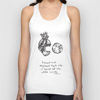 for the heart-hungry Unisex Tank Top