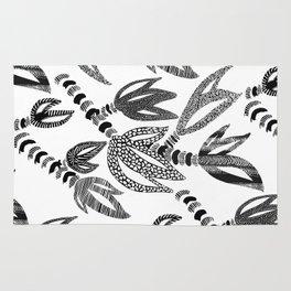 Tropical Succulent Rug