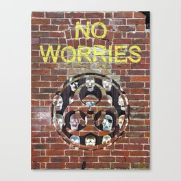 NO WORRIES 01 Canvas Print