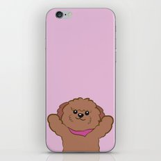 Hug poodle iPhone & iPod Skin