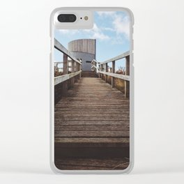 The Round and Round House Clear iPhone Case