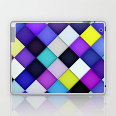 Quilted with Halftone Laptop & iPad Skin