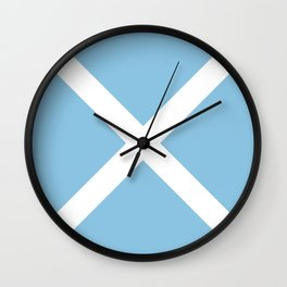 flag of san andres y providencia (Colombia) Wall Clock