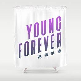 BTS ! Young Forever Shower Curtain