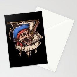 Skull Bones Biker Cool Gift Stationery Cards