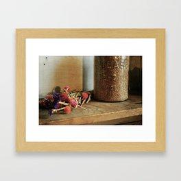 Winter Clover Framed Art Print