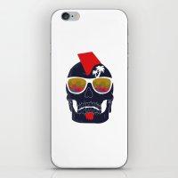 bones iPhone & iPod Skins featuring Bones by  Steve Wade ( Swade)