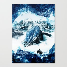 Frozen isolation Canvas Print