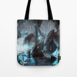 Glowbell Cavern Tote Bag