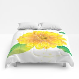 Helianthus - The Color of Vitality, Intelligence and Happiness Comforters