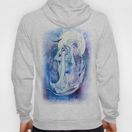 Goddess of Aquarius - An Air Elemental Hoody