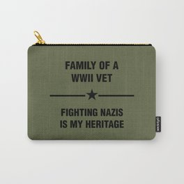 WWII Family Heritage Carry-All Pouch