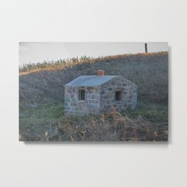 Stone Natural Spring House, ND 2 Metal Print