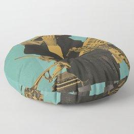ABSTRACT JAZZ Floor Pillow