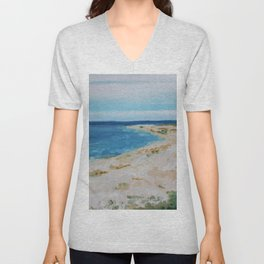 By the Sea Side Unisex V-Neck