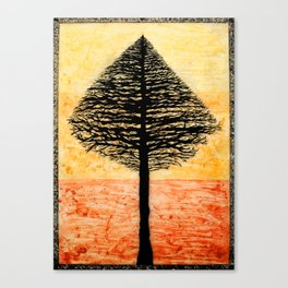 Tree Top. Canvas Print