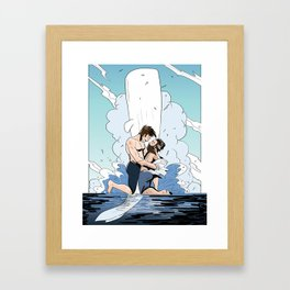 You Were Archangel Enough Framed Art Print