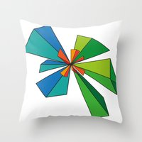 3d Throw Pillows featuring 3D by MeMRB