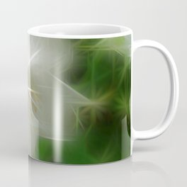 White Shiny Jasmine Coffee Mug