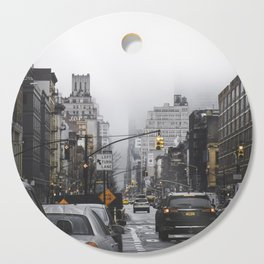 New York City Street Cutting Board