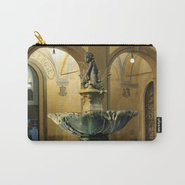 The Fountain - Prato - Tuscany Carry-All Pouch