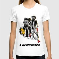 pirlo T-shirts featuring L'architetto Di Torino by Akyanyme