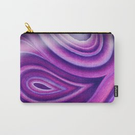 Purple Agate Mineral Carry-All Pouch