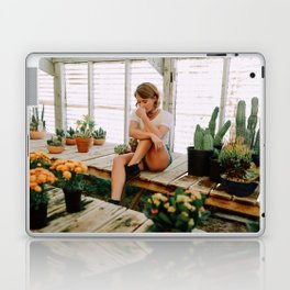 greenhouse girl Laptop & iPad Skin