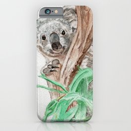 Koala Peek-A-Boo iPhone Case