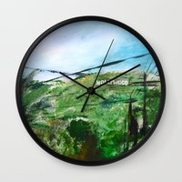 hollywood Wall Clocks featuring Hollywood by James Peart